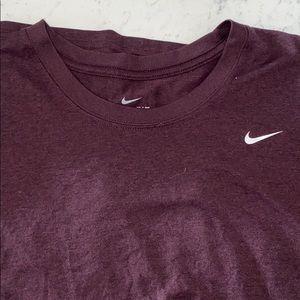 Nike Dri-fit scoop neck tee